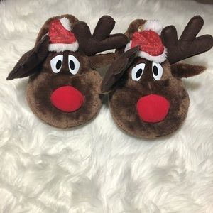 Other - Rudolph Christmas slippers